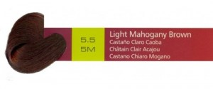 5.5, 5M Light Mahogany Brown (AC)