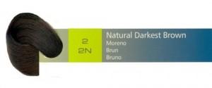 2, 2N Natural Darkest Brown (AC)